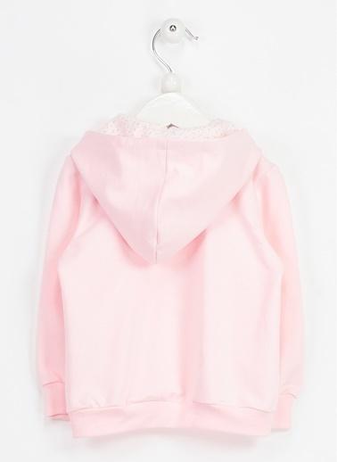 Locopop Sweatshirt Pembe